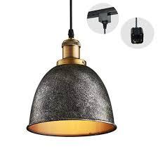 track lighting pendant. Kiven H-type 3 Wire Vintage Silver Track Light Pendants Length 4.9 Ft Restaurant Chandelier Lighting Pendant G