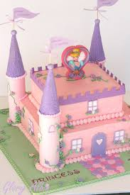 Princess Castle Cake Here Is My Project From This Weekend Flickr