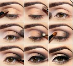 smokey eye makeup tutorial for brown eyes pictures