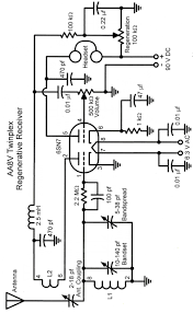 The aa8v twinplex regenerative receiver schematic diagrams and antenna coupling capacitor is a critical ponent in