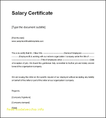 Free Certification Of Employment Letter Template Free Template Design
