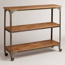 rustic console table sofa table hallway console table glass console table