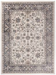 persian rug style white grey traditional oriental pattern for living room dininng room
