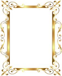 fancy frame border transparent. Frame Victorian Border Antique Png Fancy Gold Deco Transparent Clip Art Image | Patterns R