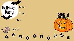 Free Halloween Birthday Invitation Templates Free Halloween Party Invitation Templates 8 Blank Invoice