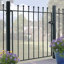 manor wrought iron garden gate