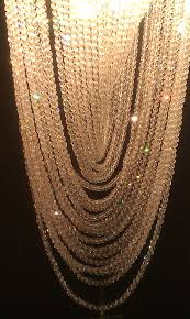 crystal strands chandelier harrods
