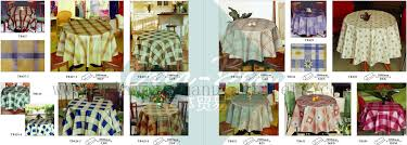 44 45 china round plastic tablecloths supplier