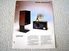 infinity qa speakers. infinity quantum junior speaker brochure catalogue qa speakers