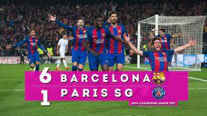 Ultimate Christian - Barcelona 6 x 1 PSG - JOGOS HISTÓRICOS! - Champions  League 2017
