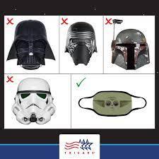 Darth Vader mask ...