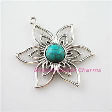 3pcs retro tibetan silver turquoise