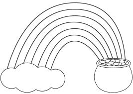 Small Picture Rainbow Coloring Pages For Preschool Archives At Coloring Pages