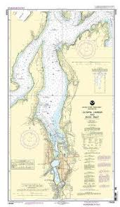 Puget Sound Charts Puget Sound Nautical Charts Olympia Harbor