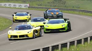 The audi is tuned by hannov. Bugatti Chiron Super Sport 300 Vs Ferrari Laferrari Vs Lamborghini Aven Bugatti Chiron Ferrari Laferrari Super Sport