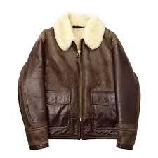 an j 4 sheepskin jacket
