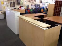 popular of second hand reception desk used reception desks