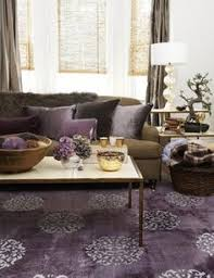 chocolate brown living room furniture. shade ideamodern living room with purple rug chocolate brown sofa couch cushions and curtains gunna try this in our new apartment furniture