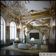 Rococo Decorative Wall Tile Interior Design Style 28