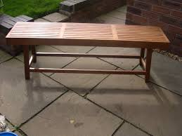 a new and unused john lewis wooden garden bench