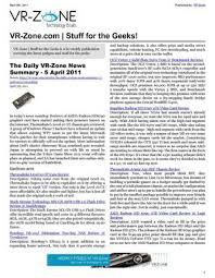 vr zone technology news stuff for the geeks apr 2011 issue