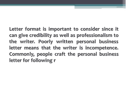 Personal Business Letter Unique Proper Format Personal Business Letter 44 YouTube