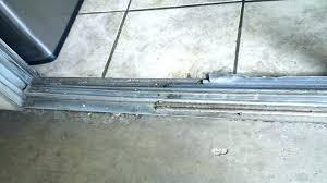 repair sliding glass door wheels sliding door roller