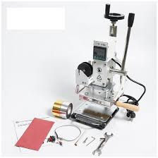 hot foil stamping machine luxury tools leather house fur buckles leathercraft tools