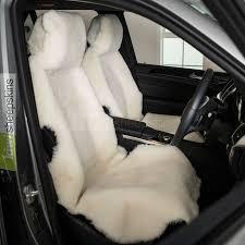 sheepskin car seat covers shorn short wool