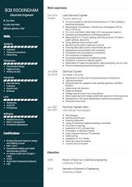 Engineering Cv Template Electronic Engineer Cv Template