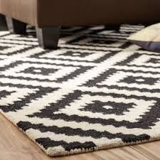 outstanding awesome black and cream rugs within area roselawnlutheran plans 24 with regard to black and cream area rugs popular