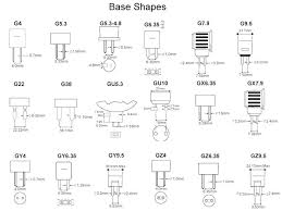 Automotive Bulb Chart Pdf Bulb Types