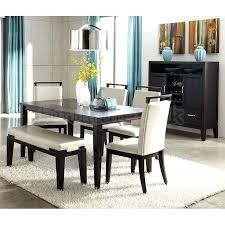black kitchen table with bench. Wonderful Kitchen Bench Dining Room Sets Modern Simple Table With  Set Furniture For Black Kitchen T