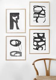 amazing abstract black white wall art west elm wall art black and white plan  on white black wall art with stylish best 25 white wall art ideas on pinterest music wall decor