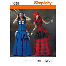 Simplicity Patterns Costumes Stunning Simplicity Pattern 48 Misses' Costumes