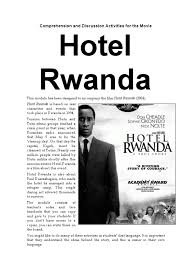 hotel rwanda essay essay about paper smoking research paperquot  worksheet hotel rwanda worksheet worksheet hotel rwanda worksheet comprehension and discussion activities for the