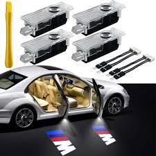3d Shadow Light Bmw Car Door Light Logo Projector Lighting 4 Pcs Led Car Ghost Shadow Welcome Lights East Installtion For Bmw M 3 5 6 7 Xz Gt Mini Series