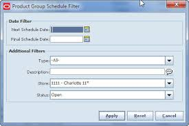 Group Scheduler Product Group Scheduler