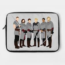 merlin bbc the knights of the round table laptop case
