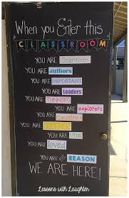 Classroom Door School 16 Best Doors And Walls Images On Pinterest