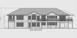 Amusing House Plans With 4 Car Garage Ideas  Best Idea Home Four Car Garage House Plans