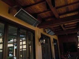 outdoor heater ceiling mounted