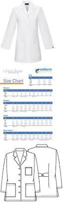 Cherokee Scrubs Size Chart 714 Best Lab Coats 105417 Images
