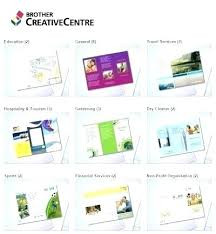 Non Profit Brochure Templates Free Free Online Pamphlet Template