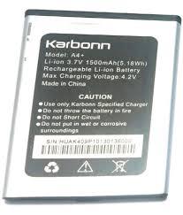Karbonn A4+ 1500 mAh Battery by Karban ...