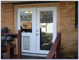 dog door for glass door door with built in dog door patio door with dog door