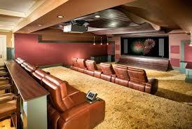 ideas for basement lighting ideas for basement as cinema and mini bar basement bar lighting ideas