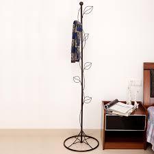 Metal Coat Rack Tree Metal Coat Rack Tree Style Bedroom Floor Racks Hangers Creative 55