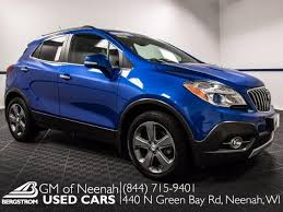 buick encore 2014 blue. 2014 buick encore vehicle photo in neenah wi 54956 blue