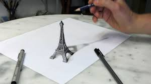 how to 3d drawing on paper 3d painting on paper how to draw an illusion